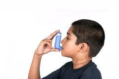 哮喘 库存照片