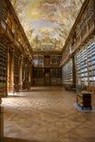 哲学图书馆 库存照片