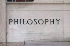哲学 库存照片