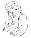 哺乳 免版税库存图片