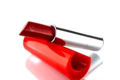 唇膏红色 免版税库存图片