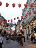 唐人街在伦敦,英国 图库摄影