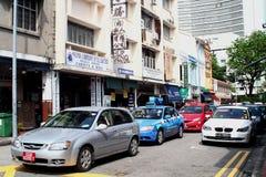 唐人街在新加坡 免版税库存图片