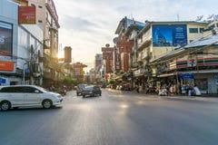 唐人街在泰国 库存照片