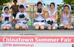 唐人街夏天公平的第37周年 库存图片