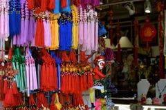 唐人街小装饰品 免版税库存照片