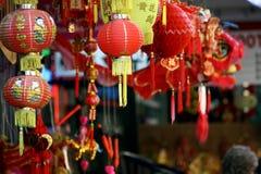唐人街市场存储 免版税库存照片