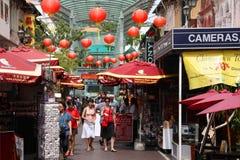 唐人街新加坡 库存照片