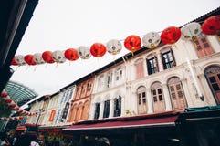 唐人街新加坡 免版税图库摄影