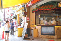 唐人街日本横滨 图库摄影