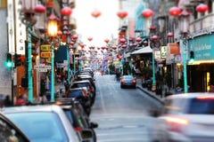 唐人街旧金山 库存图片