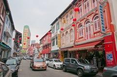 唐人街街道 免版税库存照片