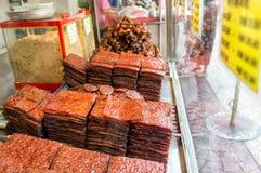 唐人街街食物-吉隆坡 免版税库存照片