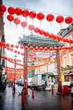 唐人街,伦敦 免版税库存照片