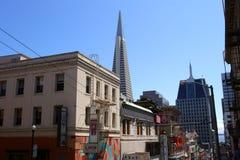 唐人街,旧金山的储蓄图象 免版税库存照片