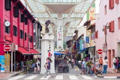 唐人街驻地的出口 免版税库存照片