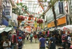唐人街Petaling街,吉隆坡 库存图片