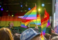 唐卡斯特自豪感8月19日2017 LGBT节日 免版税库存照片