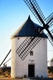 唐吉诃德风车孔苏埃格拉,托莱多西班牙 库存照片