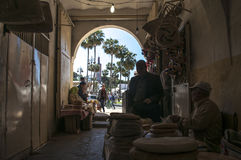 唐基尔,唐基尔, Tanger,摩洛哥,非洲,北非,马格里布海岸,直布罗陀海峡,地中海,大西洋 图库摄影