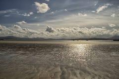 唐宁海滩, Co Donegal,爱尔兰 免版税库存图片