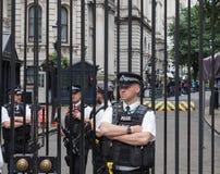 唐宁街在伦敦 库存照片