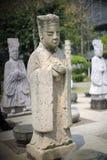 唐朝部长石头雕象 免版税库存图片