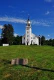 唐森, MA :1770其次唐森会堂 免版税库存照片