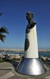 唐璜在著名Puerto Banus的de Borbon在马尔韦利亚,太阳海岸,西班牙 免版税图库摄影