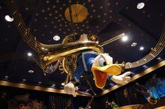 唐纳德,爱好音乐Mickey的Philharmagic 免版税图库摄影