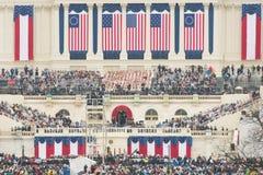 唐纳德・川普的总统就职典礼 库存照片