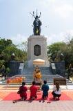 唐Chedi, Supanburi,泰国 库存图片