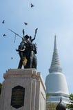 唐Chedi, Supanburi,泰国 库存照片