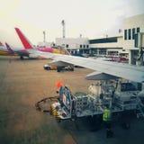 唐Mueang机场,曼谷,泰国 免版税库存图片
