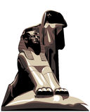 唤醒埃及s的艺术 免版税库存照片