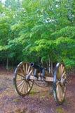 在Shiloh的内战大炮 库存图片