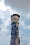 唯一古色古香的大理石柱 免版税库存图片