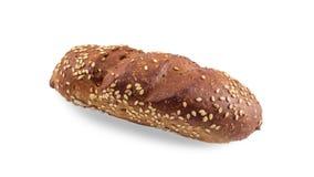 唯一小圆面包用芝麻 图库摄影