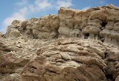 唯一形成的岩石 免版税库存照片