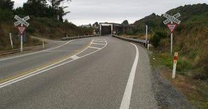 唯一桥梁的运输路线 库存图片