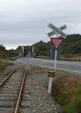 唯一桥梁的运输路线 库存照片