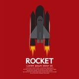 唯一火箭发射引擎 免版税图库摄影