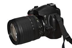 唯一照相机数字式透镜的反射 免版税库存图片