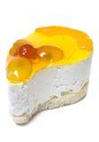 唯一的乳酪蛋糕 图库摄影