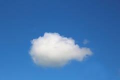 唯一的云彩 免版税库存照片