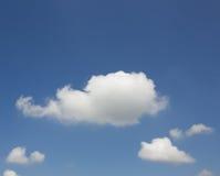 唯一的云彩 库存图片