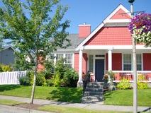 唯一的房子 免版税库存照片