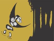 唯一的猴子 免版税图库摄影