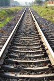 唯一的铁路 免版税库存图片