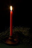 唯一的candel 库存图片